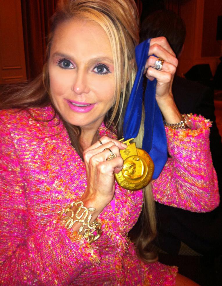 Steven Bradbury's Olympic Gold Medel